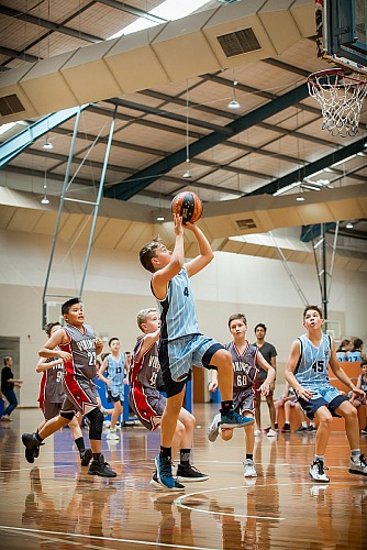 Canberra Basketball Game Photography